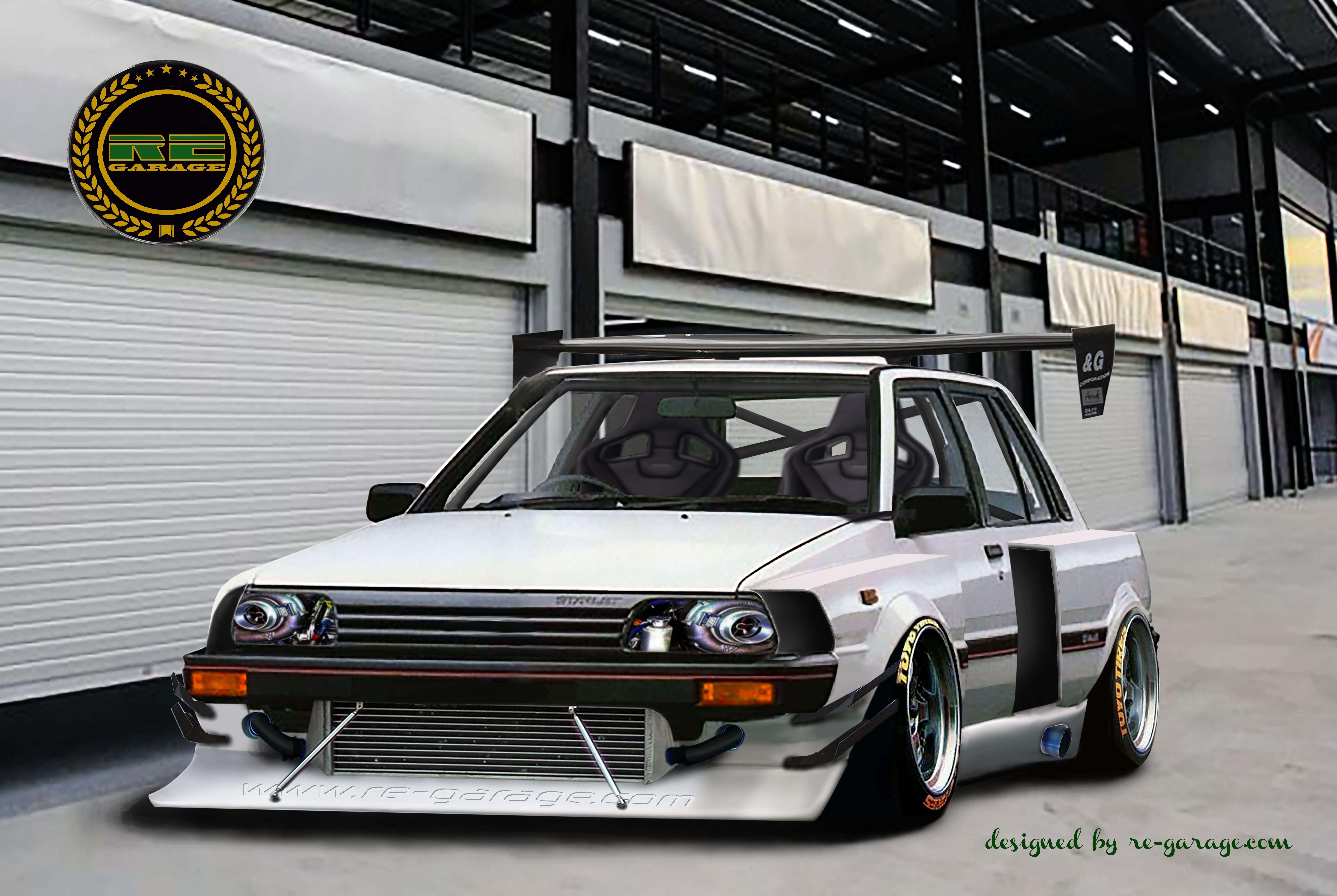 toyota starlet ep71 by re-garage-com